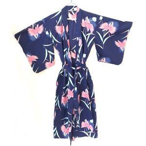 Marukyo Authentic Japanese Cotton Floral Kimono